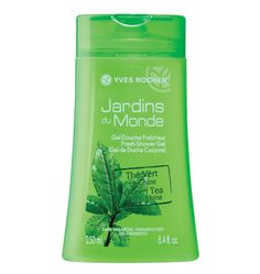 Escape to the green plantations of China! Every morning, you'll enjoy the refreshing and invigorating scent of Green Tea from China Refreshing Shower Gel in your shower. Its gel moisturizing formula, enriched with Aloe Vera, turns into a light foam and gently washes your skin. @Yves Rocher USA #springbeauty