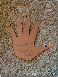 10 DIY Thanksgiving Place Card Ideas- A Cultivated Nest