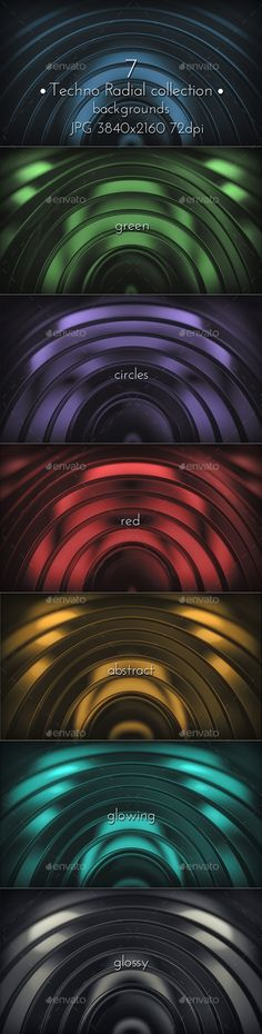 Modern Radial Techno Surface by cinema4design Modern Radial Techno Glossy Surface 3D Backgrounds. 7 JPG images, 3840×2160, 72 DPI.