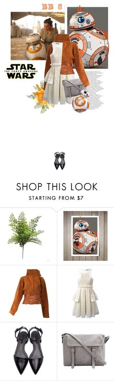 """""""Star Wars: The Force Awakens"""" by crazydita ❤ liked on Polyvore featuring Versace, Alexander McQueen, Alexander Wang, starwars and contestentry"""