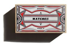 Matchboxes   Packaging on Behance