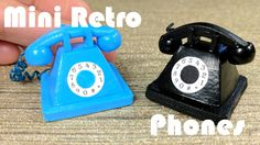 DIY Miniature Old Fashioned Retro Phone
