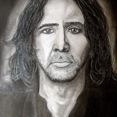 Products by Anita Csernak (Kolormagic) Nicolas Cage, Portraits, Drawings, Sketches, Painting, Products, Art, Art Background, Head Shots