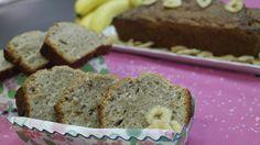 Das Bananenbrot von Enies Gast Luise Weiss duftet nicht nur herrlich wenn es aus dem Ofen kommt, sondern es ist auch noch süß und gesund! Dieses Brot schmeckt auch ohne Dip einfach nur lecker.