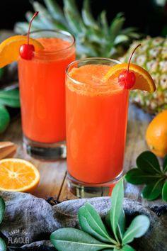 Mocktail Drinks, Refreshing Drinks, Summer Drinks, Fun Drinks, Healthy Drinks, Non Alcoholic Drinks Orange Juice, Alcoholic Beverages, Kids Mocktails, Dessert