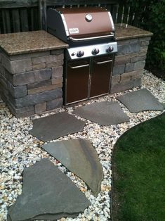 Small Outdoor Grill Ideas 13 Backyard Grill Station In 2019 intended for 12 Genius Ways How to Craft Backyard Grill Ideas Outdoor Grill Area, Outdoor Grill Station, Outside Grill, Patio Grill, Backyard Patio, Backyard Landscaping, Diy Grill, Outdoor Grilling, Diy Patio