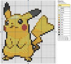 25 - Pikachu II by Makibird-Stitching.deviantart.com on @deviantART