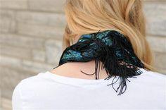 scarf with fringe