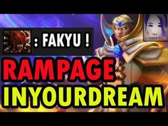 RAMPAGE & Predictable SunStrike - Inyourdream [Dota 2]