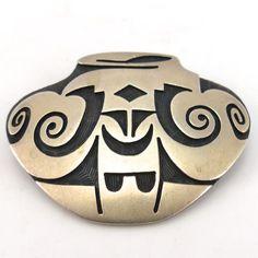 1970s Hopi Pottery Pin