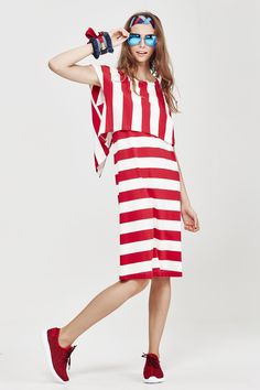 COOPER Summer 16 CO50159-14 Fabric Name & Composition  Stripe-Ography - 95% Cotton 5% Spandex
