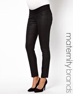 Image 1 - New Look Maternity - Jean skinny enduit