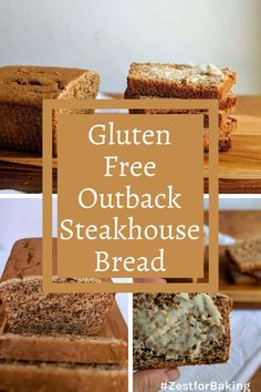 This tasty gluten free outback steakhouse bread is so good, you'll never guess it's gluten free! So tender and melt-in-your-mouth delicious! #zestforbaking #glutenfreebread #glutenfreerecipes #glutenfreebaking Gluten Free Quick Bread, Gluten Free Treats, Gluten Free Baking, Gluten Free Recipes, Bread Recipes, Yeast Bread, Bread Baking, Sorghum Flour