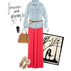 Friday night Date !! by mdgirlevr on Polyvore