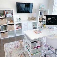Saturdays are for ____! Fill in the blank below 👇🏼 For me Saturdays are for allll the things; resting, packing orders, date nights, errands, and whatever else is on my to do list 😂🙈 What are you doing on this beautiful Saturday? Home Office Space, Home Office Design, Home Office Decor, Office Ideas, Craft Room Design, Craft Room Decor, Craft Space, Decor Crafts, Home Office Organization