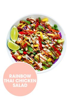 Taste the rainbow in this spice-filled salad. Get the recipe from Gimme Some Oven.   - ELLE.com