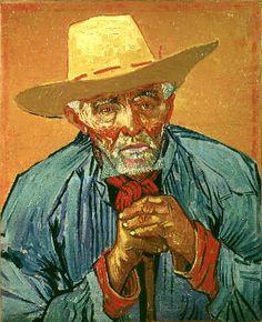 Vincent Van Gogh - Bildnis des Bauern Patience Escalier