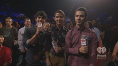 The Jonas Brothers making a surprise appearance at the iHeartRadio Music Festival 2012. #iHeartRadio #JonasBrothers - Listen to your own Jonas Brothers inspired station here: http://www.iheart.com/artist/Jonas-Brothers-40624/