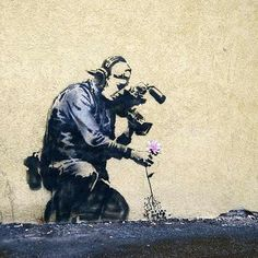 """You're mind is working at its best when you're being paranoid.  You explore every avenue and possibility of your situation  at high speed with total clarity.""  - Banksy"