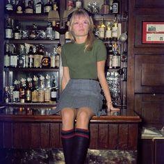 """""""Brigitte Bardot in a London pub, 1968."""""""