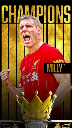 Liverpool Premier League, Liverpool Players, Premier League Champions, Liverpool Football Club, Liverpool Fc, James Milner, This Is Anfield, Football Wallpaper, Football Players