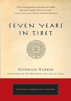 """Seven Years in Tibet"" by Heinrich Harrer, 1952; german: ""Sieben Jahre in Tibet"" (original title)"
