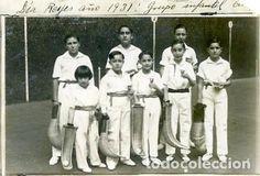 POSTAL DIA REYES YEAR 1931 GRUPO INFANTIL PELOTARIS BASQUE PELOTA - Picture 1