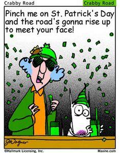 Maxine St. Patrick's Day humor