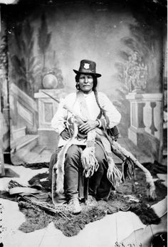 Apache Indian police, c. 1883-1886. ~ Stay at Hummingbird Ranch Vacation House $129 Nightly w/ 3 night min, $2150 ~ $2450 Month. Southeastern Arizona At 4700 elevation, we have 360 mountain views to enjoy your hiking, biking and exploring the 3 Ghost Towns 10 mins away from the Ranch. 2 National Parks can be seen in the distance from the Ranch. Both were home to 2 famous Chiefs~ Cochise & Geronimo. http://vacationhomerentals.com/68121 Video~ https://www.youtube.com/watch?v=WpapgXh7Av0