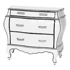 Cassettiera Trip Trumeau By Seletti.10 Best Comodas Images Furniture Decor Painted Furniture