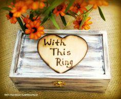Ring Bearer Wedding box