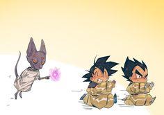 Goku ~ Vegeta ~ Bill