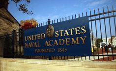 U.S. Naval Academy I remember seeing that sign!!!!