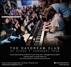 Ever fancied having The Daydream Club play in your living room #TDCUpClose