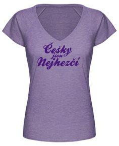 Lila - češky jsou nejhezčí #design #shirtinatorsdesign #shirtinator