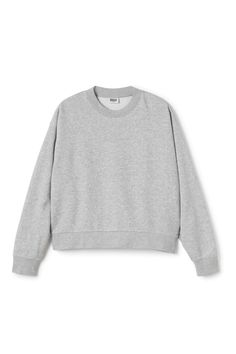 Huge Cropped Solid Sweater