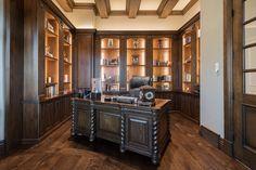 Luxury home office interior design done by Lisman Studio