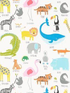 Buy Scion Animal Magic Wallpaper | John Lewis