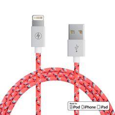 Malibu Lightning Cable for iPhone, iPad, iPod [MFi Certified]