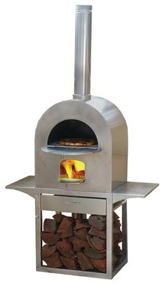 Image detail for -wood fired pizza oven local made heavy duty stainless steel wood fired ...