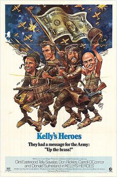 Kelly's Heroes Movie Posters