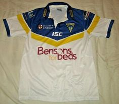 d9277432935 Warrington Wolves 2012 Home Rugby Shirt Top Shirt Jersey - Adult S #fashion  #sports