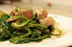 Συνταγές για Χοιρινό / Χοιρινό με Σταμναγκάθι Κρήτης / thefoodproject.gr Chicken, Meat, Food, Essen, Meals, Yemek, Eten, Cubs