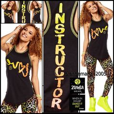 ZUMBA INSTRUCTOR Love Tight Tank Racerback Top - A Convention SOLD-OUT!!! S M L #ZUMBAZUMBAFITNESS #ShirtsTopsTankTeeRacerback