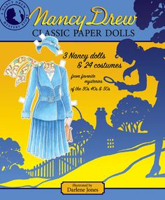 Nancy Drew Classic Paper Dolls [Favorite Girl Detective] : Paper Dolls of Classic Stars, Vintage Fashion and Nostalgic Characters, for Kids and Collectors Nancy Drew Mysteries, Cozy Mysteries, Paper Dolls Book, Vintage Paper Dolls, Vintage Books, Vintage Sewing, Nancy Drew Books, Nancy Doll, Paper News