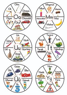 Preschool Color Activities, Articulation Activities, Alphabet Activities, Infant Activities, Speech Language Therapy, Speech And Language, Boy Crochet Patterns, Turkish Lessons, Learn Turkish Language