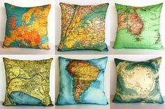 Throw pillows for the homeschool reading loft... drool.  http://www.etsy.com/shop/mybeardedpigeon?ref=si_shop