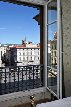A room with a view Hotel Pendini Florence