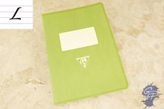 Fountain Pen Paper   Clairefontaine 1951 Staplebound Notebook - 5.875 x 8.25, Lined Paper - Green   GouletPens.com