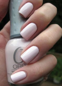 "Orly nail polish in ""Kiss The Bride"""